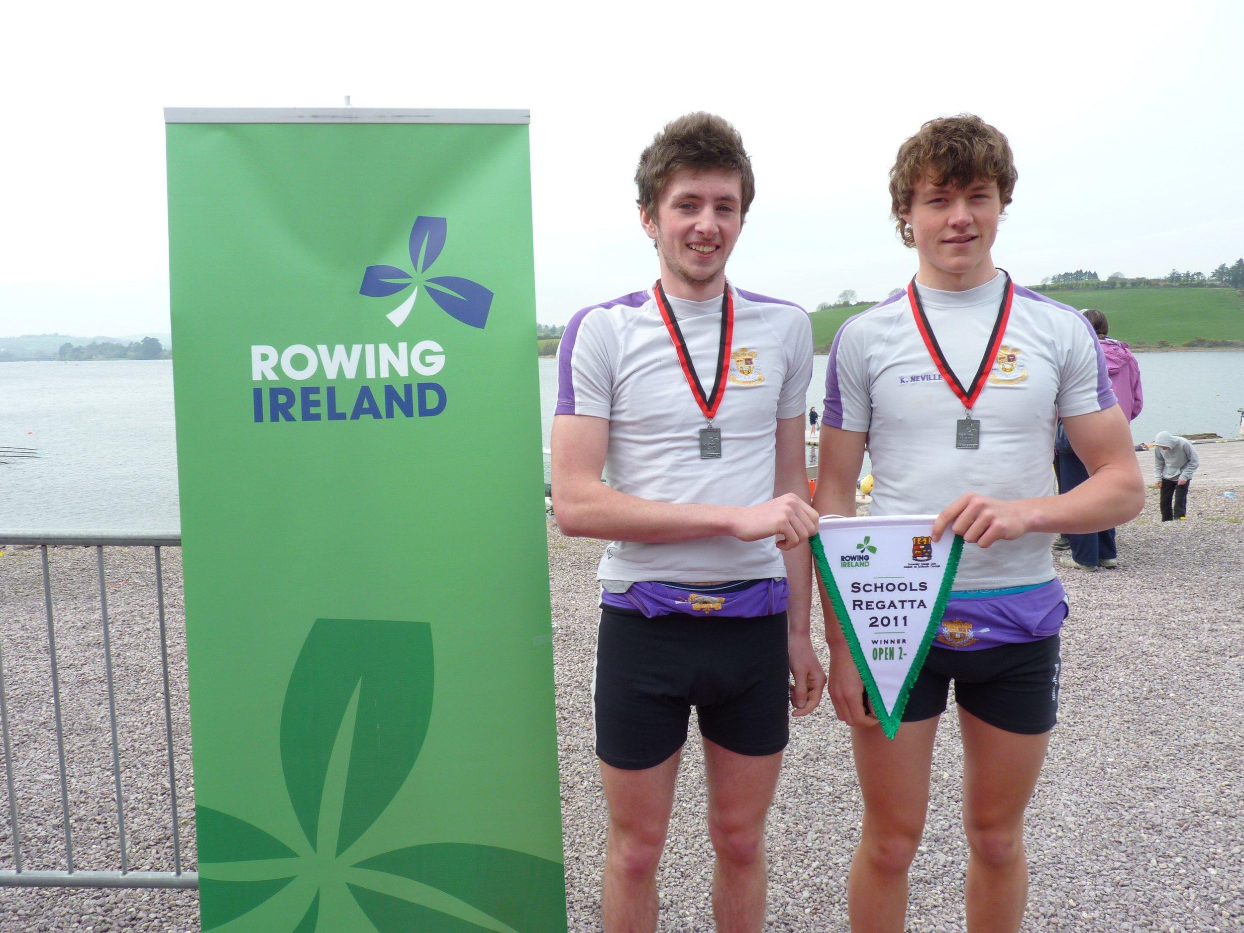Senior Pairs - Schools Champions of Ireland 2011
