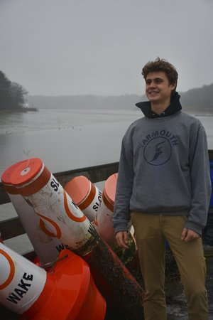 Ben Cox-Faxon   I am a senior at Yarmouth High School. I find inspiration in the people who I get to be with every day- especially my friends on the Cross Country and Swim teams. I am most grateful for my family, who has been a constant pillar of support and a continual source of joy in my life, and for all of the mentors in my 18 years of existence who have selflessly offered their guidance to make me a better person.  My appreciation is endless for the friends who I have grown up with and who I simply could not live without. At the the very least, they are amazing, and I am so fortunate for every single one of them.  The ocean holds a special place in my heart. Words are to superfluous here.  I owe a HUGE thanks to my dear friends Grady and Paige for putting on the Day of Hope and for doing good in this world. It is an honor to return love to the community that has so kindly loved us from the beginning, and it couldn't have happened without them.