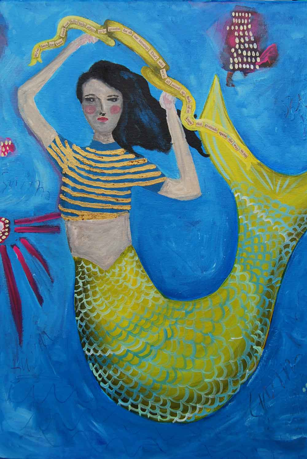 THE MERMAIDS COLLECTION   Art that inspires imagination and awareness of our oceans.