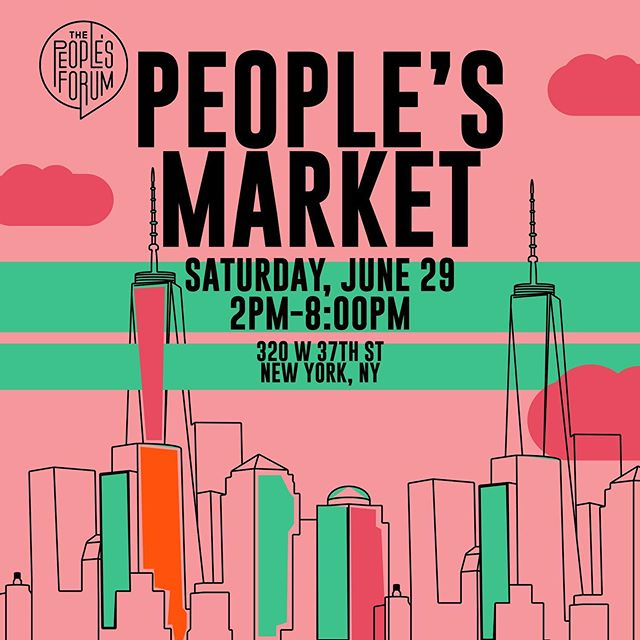 Excited to be a part of the @peoplesforumnyc people's market - june 29th. ...WEPA! . . . . . . . . #wepa #flan #toy #stickers #peoplesforumnyc #nyc #market #vendor #saturday #june #pins #latinx #pr
