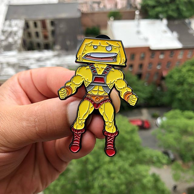 He-Flan: Masters of the WEPA!verse Pin @wepaflan.com (link in the bio) *Limited quantities ...WEPA! . . (MIGENTE at checkout for $25/over orders for free shipping) . . . #maswepah #wepa #flan #nyc #heman #motu #pin #igpins #pinlife #wepaflan #buy #preorder #sale #cocotaso #fanarts #brooklyn #80s #cartoon #mastersoftheuniverse #pr #share #follow #delicious