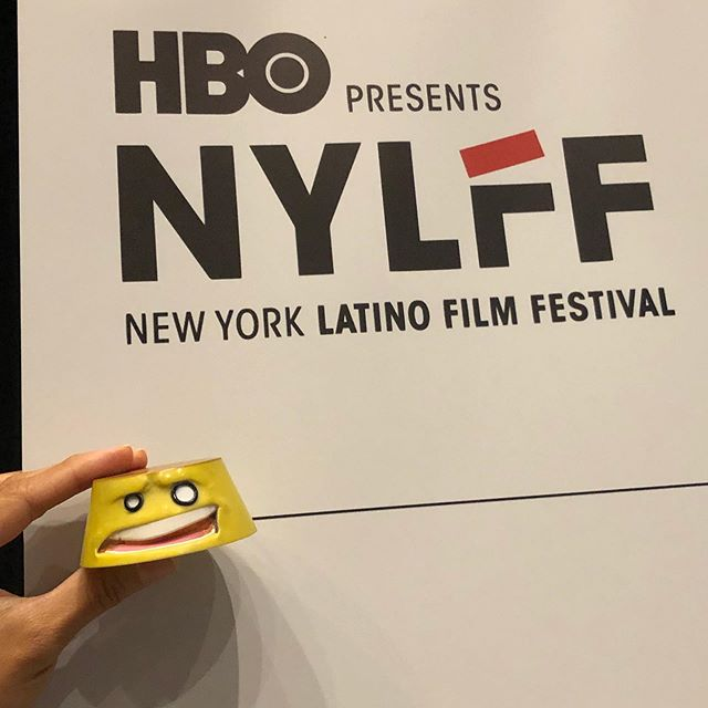 Had to represent / support @nylatinofilmfestival while I was out...wepa! . . . . . . #movies #latino #latinx #latinheros #nylatinofilmfestival #wepa #flan #ticket #represent #migente #amc #hbo #toy #flantoy