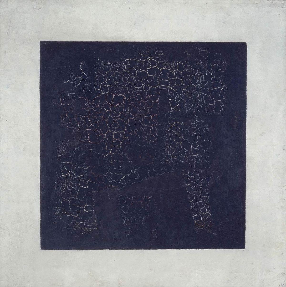 Kazimerz malevich - Black Square, 1915. image courtesy of tretyakov gallery, moscow