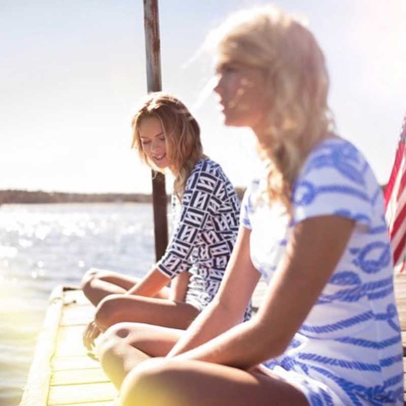 MAHI GOLD - Chatham, MAWhat began as a trunk show in our grandparents shed in Chatham, MA, MAHI GOLD has become a brand seen Coast to Coast, the Islands and beyond. What hasn't changed is our commitment to manufacturing all of our goods right here at home - in the U.S.A. Known for our nautically inspired signature prints and impeccable fit, our goal is to keep you looking great and feeling even better. Our products wash & wear magnificently, pack easily and are the perfect compliment to the classic moments that shape your life.www.mahigold.com | @mahigold