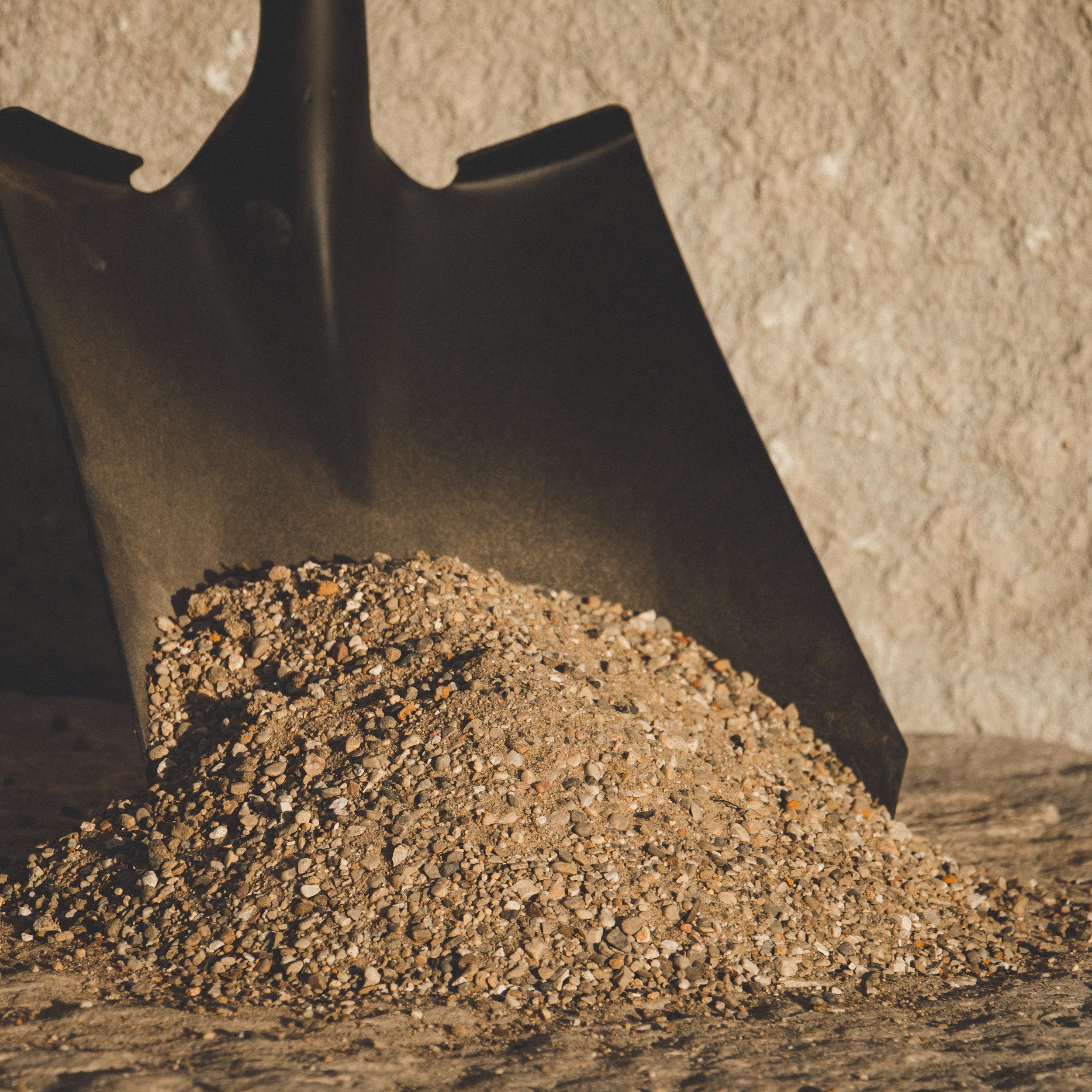 Torpedo Sand - Primarily used under bricks when creating patios.
