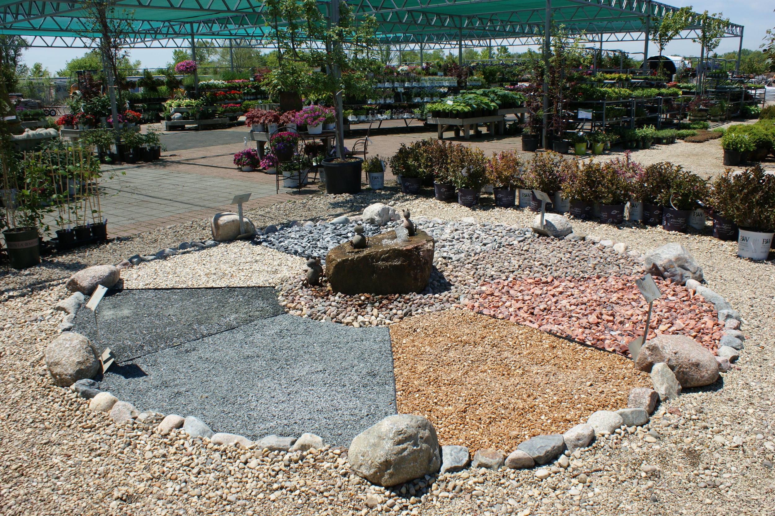Decorative Stone Gardening To Your Door