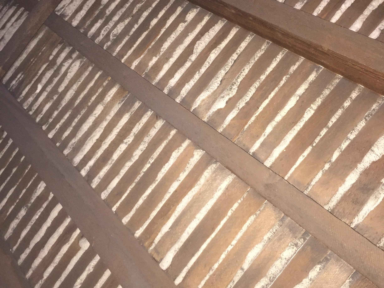Plaster stabilization -