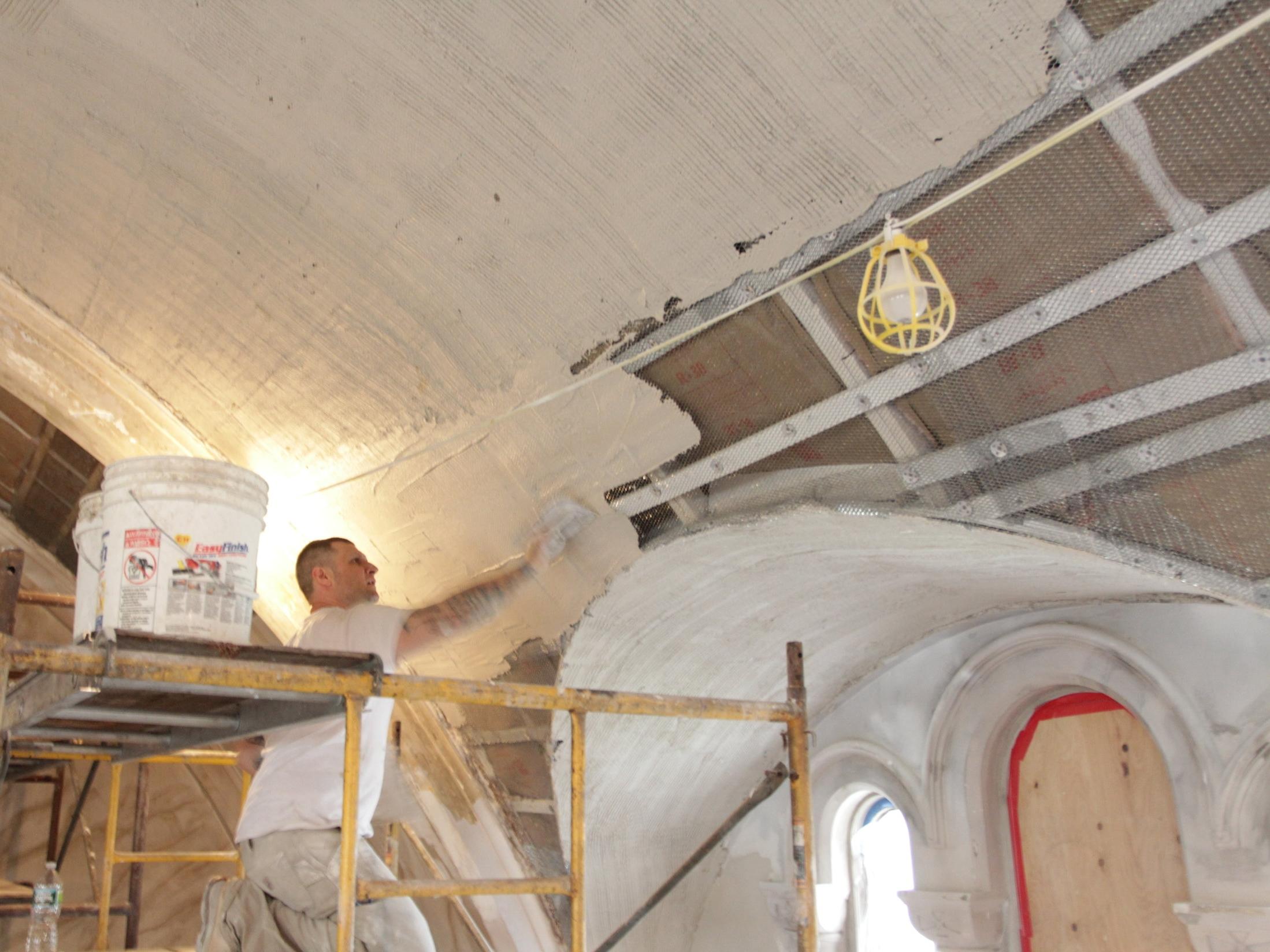 3-coat plaster -
