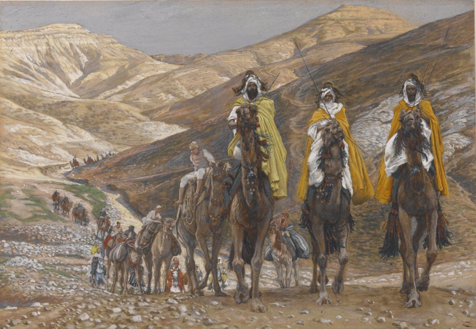 James Tissot, The Magi Journeying (1886-1894)