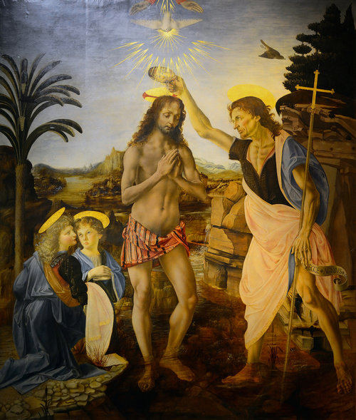 Andrea del Verrocchio and Leonardo da Vinci, 1472-1475
