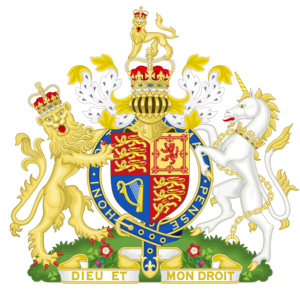 English Coat of Arms post 1571
