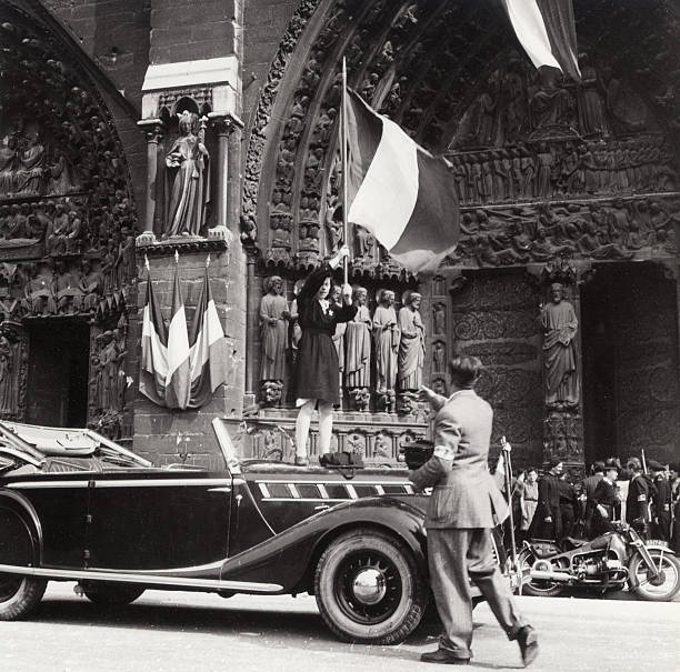 Liberation of Paris from Nazi Occupation, 1944.