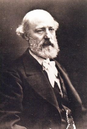 Portrait of Eugène Emmanuel Viollet-le-Duc by Nadar