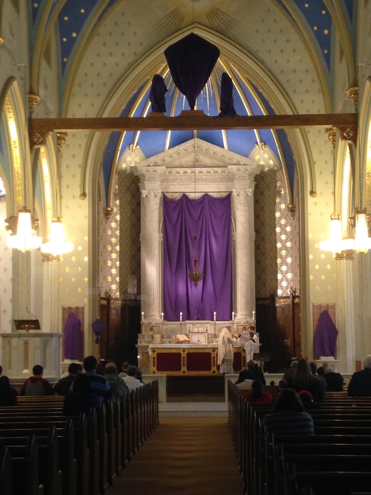St. Mary Church, Norwalk, CT   Photo Credit: New Liturgical Movement