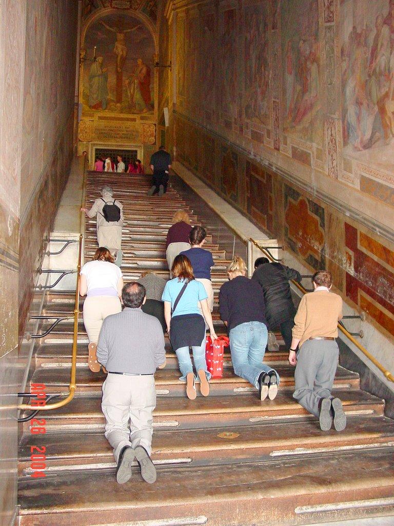Sacred Steps, Rome.