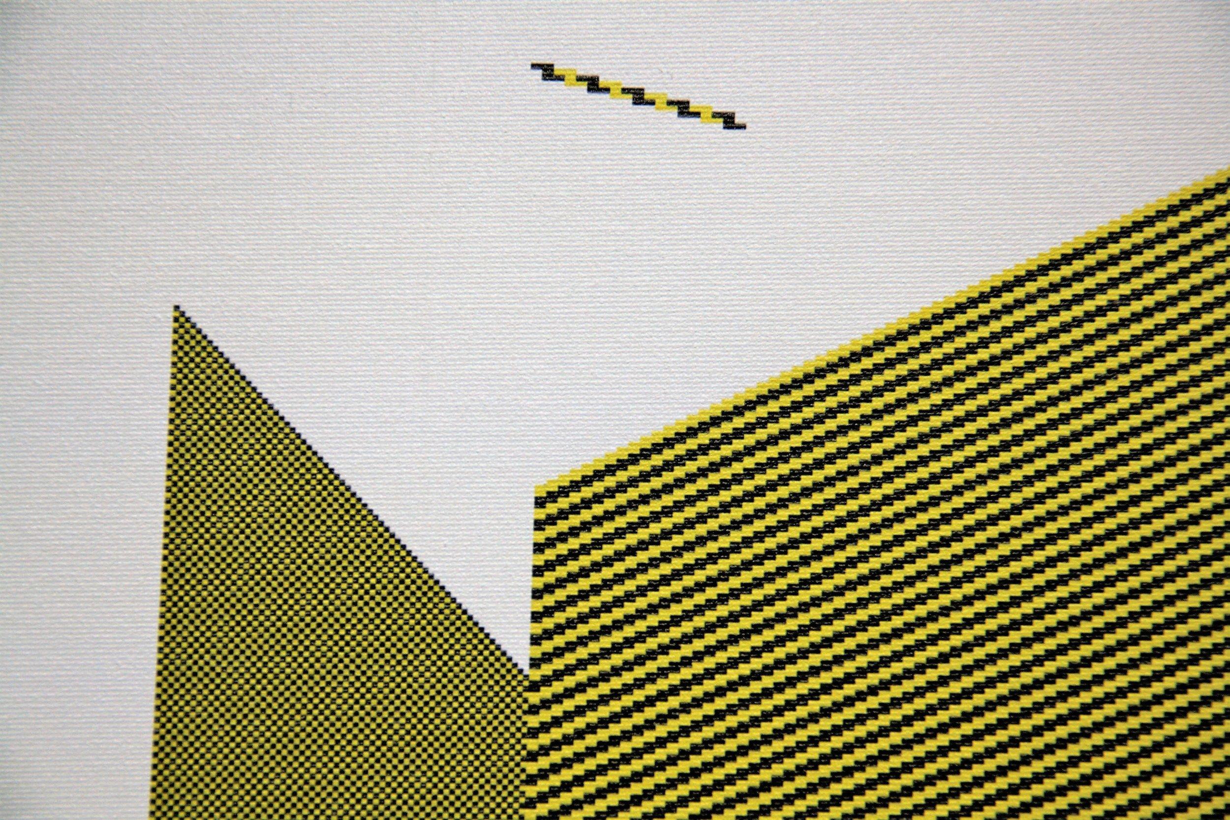 Søren Krag, Suspended Stick , detail, 2016