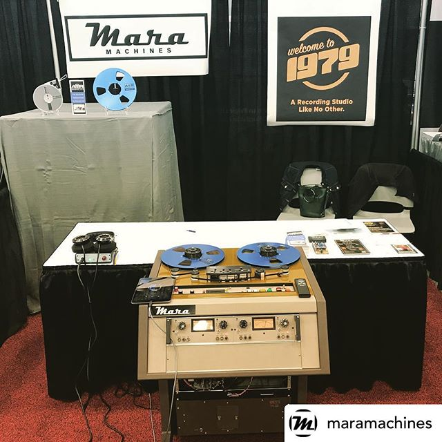 Go see @maramachines at the #NAMM show and make sure you take a listen to our tape and his machine!