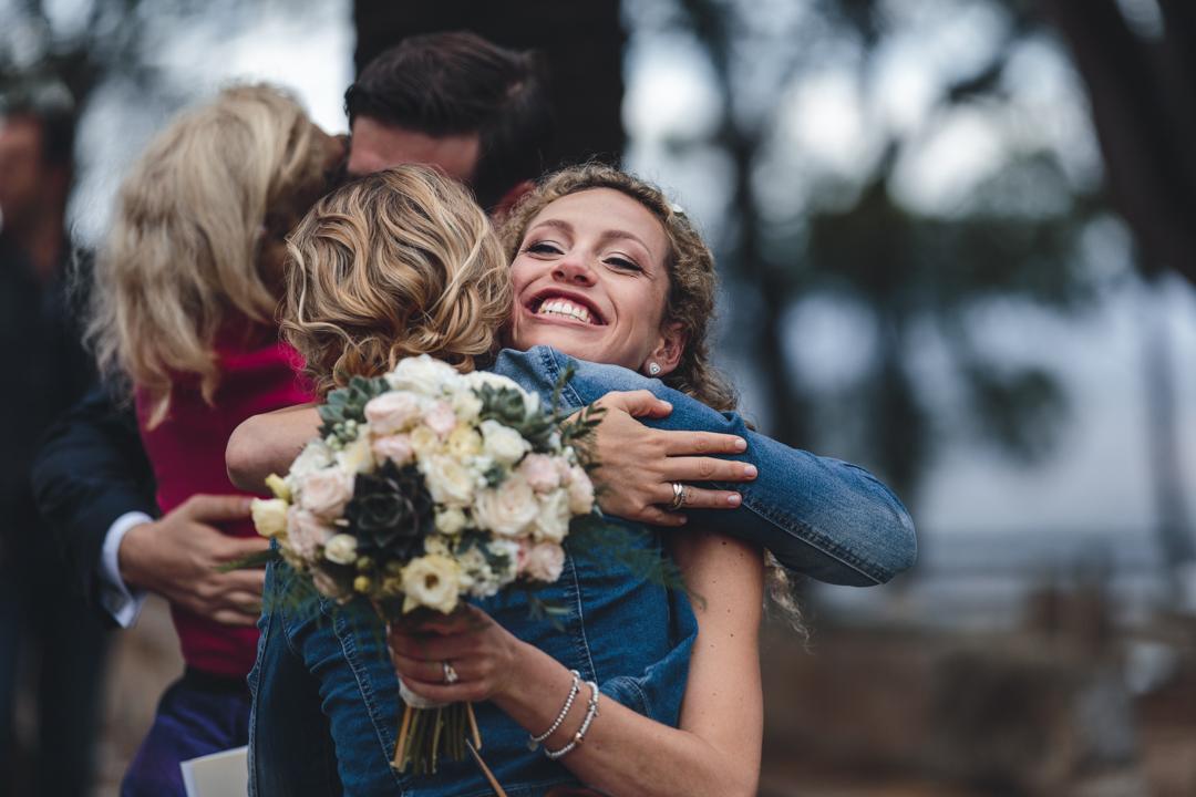 wedding photographer mallorca dominic lula congratulations to bride and groom