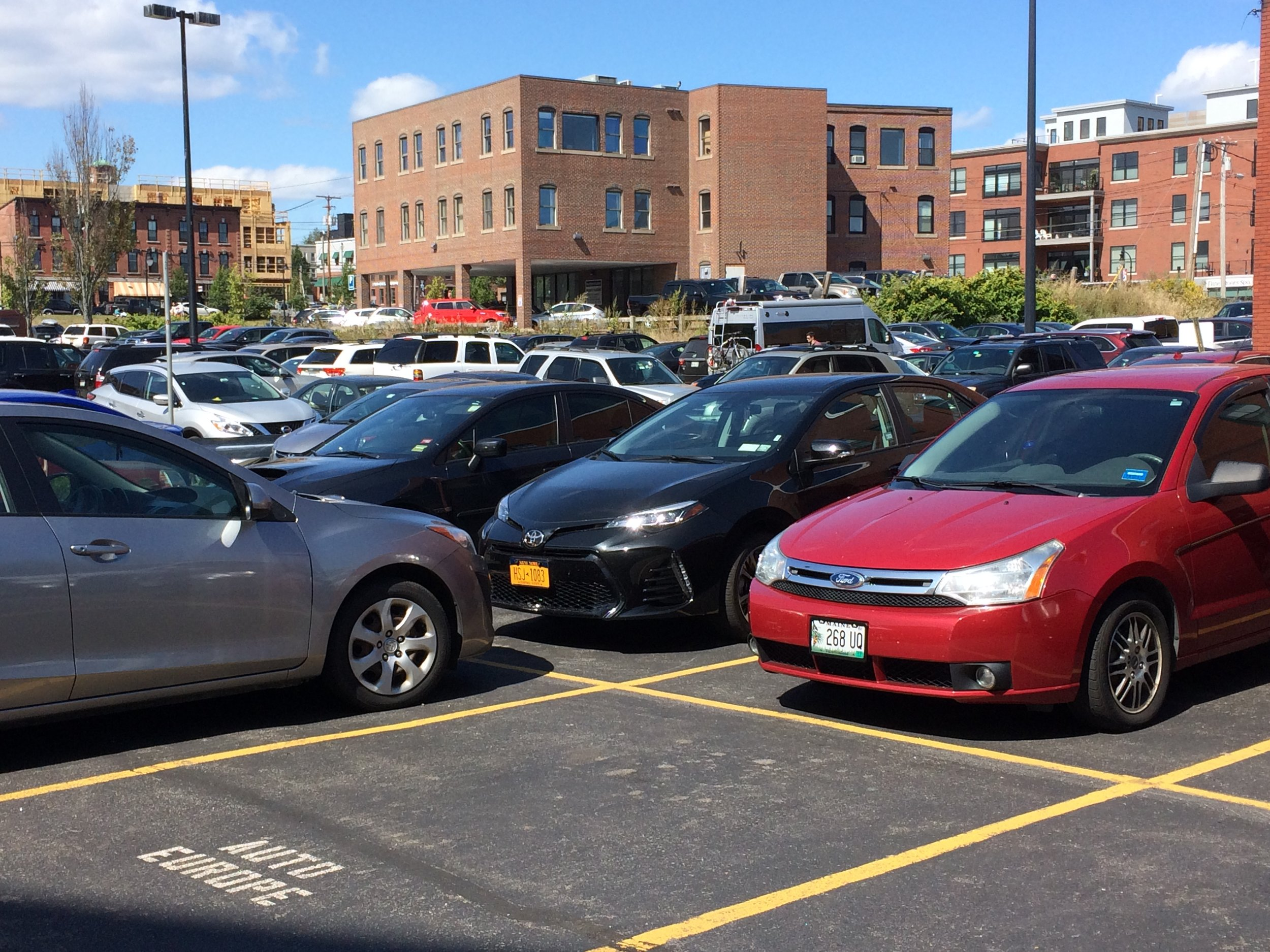 Can you find us?...We'll never lose our car in a parking lot again?