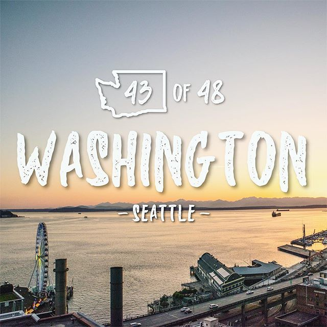 43rd state!!! And our new home 🏡. .......... Why Seattle? There are a million reasons why, but here are a few reasons why I liked Seattle enough to move across the country. 1. My wife liked it and she makes the decisions 🙈 (kinda true, but also kidding 😉). 2. The city is much cheaper to live in then NYC. 🌃  3. If we ever decided to move outside the city, we would only be 15 minutes from the city. 4. The soccer stadium is in the city and people actually go to the games 😆😆😆😆. 5. The temperature never gets too cold or too hot... (don't worry we know it rains 🙈. We must have had at least 1 person from every state tell us this🤦♂️) 6. We are a 6 hour flight to Hawaii ✈️ . 7. It is very dog friendly 8. We like the city life, but we are also within driving distance of some of the most beautiful parts of the country 🌄🌅🏞. 9. We were told that people here worked a normal amount..( not like NYC where people brag about how much they work and how much they could function on no sleep) 10. Why not try something different 🤷♂️ we can always move again 🙈 . . . . . . . . . . .#vanlife #van #travato #travatolife #travato59g #winnebago #winnebagolife #travel #adventure #adventuretime #adventureawaits #lifegoals #alwaystravel #picoftheday #photooftheday #adventurephotography #adventurephotoshoot #seattle_igers #peace #usatour #beautiful #perfectday #newhome #pikeplacemarket #washington #seattle #seattlewashington #sunset