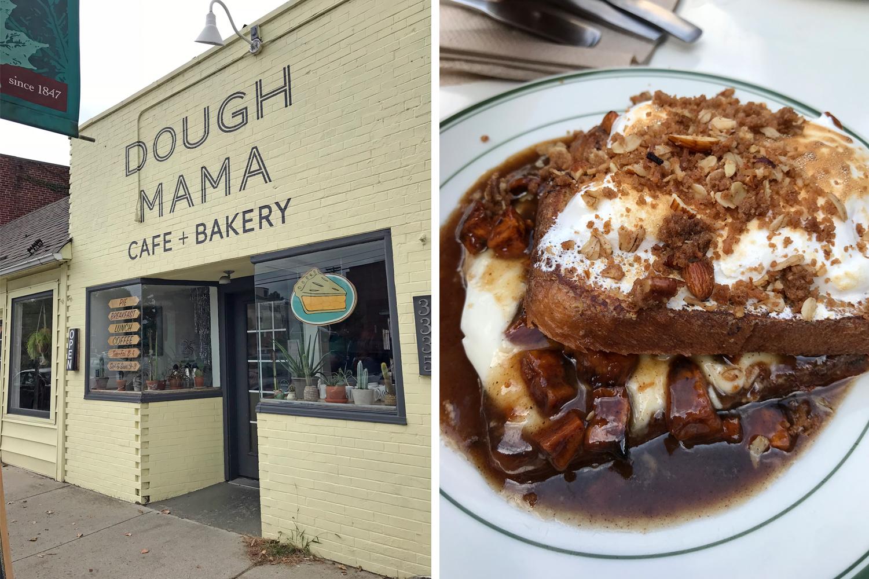 Dough Mama Mashmellow Sweet Potato French Toast