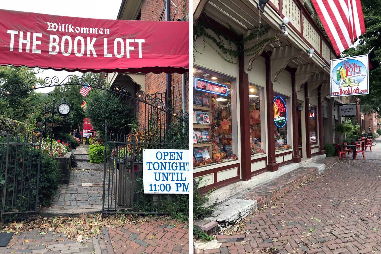 The Book Loft: 32 Rooms of Books…but you better bring a map!