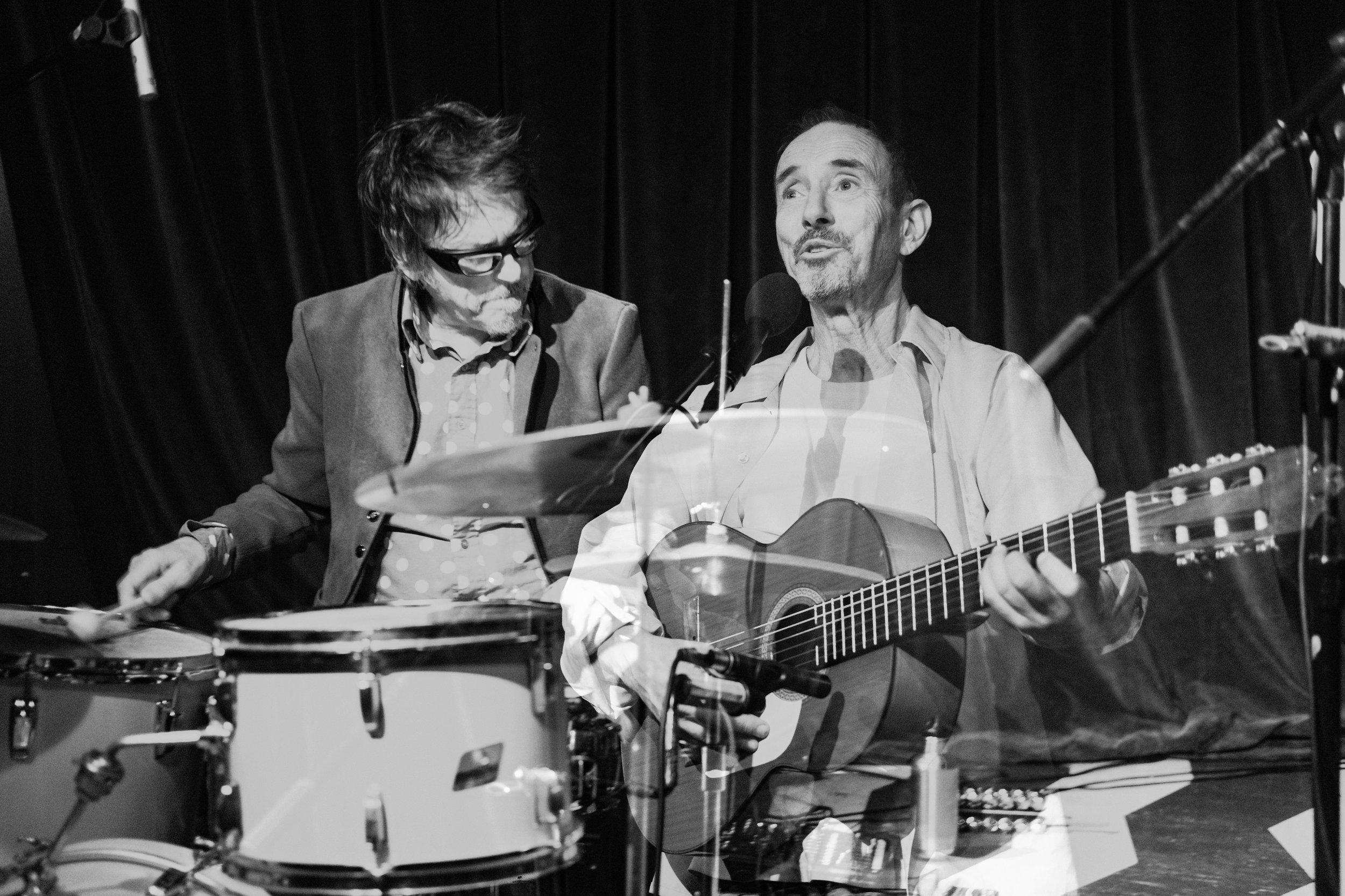 Jonathan Richman & Tommy Larkins