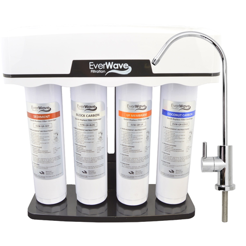 Onyx 4-Stage UF Filtration System - Our seamlessly designed water filtration system. A no hassle, easy to use unit that will exceed your filtration expectations!