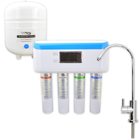Azure 4-Stage RO System - Our efficient reverse osmosis filtration system. Impressively designed to bring