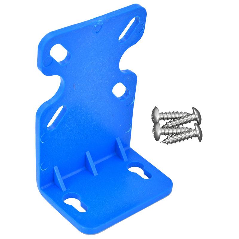 Blue Slim Bracket (EVW-HBR-25-BL) - This bracket accessory is for slim filter housings.