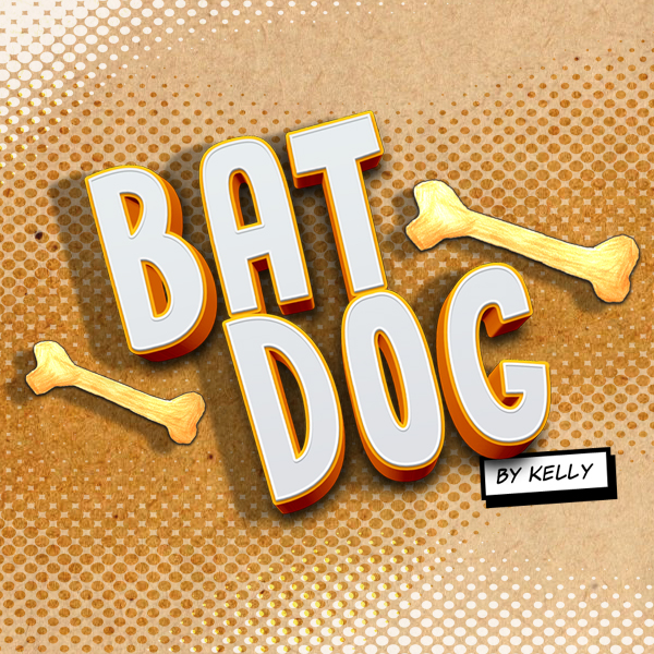 BAT DOG by Kelly  It's Bat Dog's job to protect the dogs in Dog Land, and she's having a busy day! Help her stop the bad boys and save the dogs.  How to play:  Collect bones Fire them at the bad boys