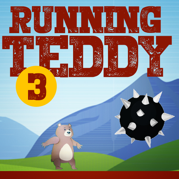 RUNNING TEDDY 3  Belfast Design week with The Ulster Museum and Blick Studios. A one off one day workshop designed to inspire and ignite an interest in making your own games delivered to a group of 8 - 12 years olds.  Hit space to start, and again to jump.