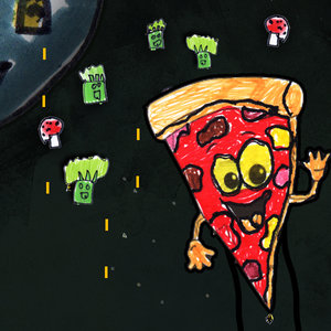 Made by Jamie   Jamie, a natural born coder if ever we met one, DOES NOT LIKE BROCCOLI OR MUSHROOMS. This can not be stressed enough. A big fan of space invaders, Jamie chose this medium to express his feelings about people who put broccoli or mushrooms on Pizza. Play as Mr Super Pizza Man and protect planet pizza from the invading ingredients.   Many thanks to The Hub, The Liberty Consortium, and Fab:Social