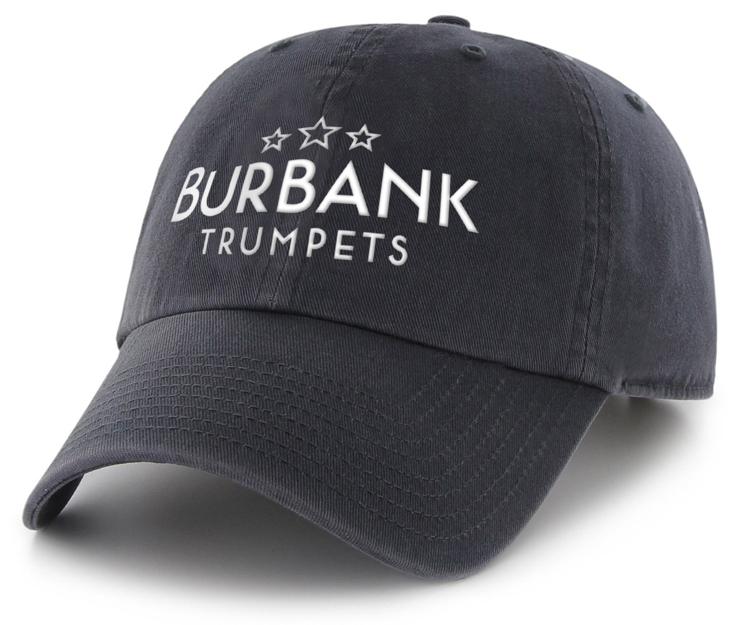 Burbank Trumpets Baseball Cap - Adjustable, one size fits most  $22.00