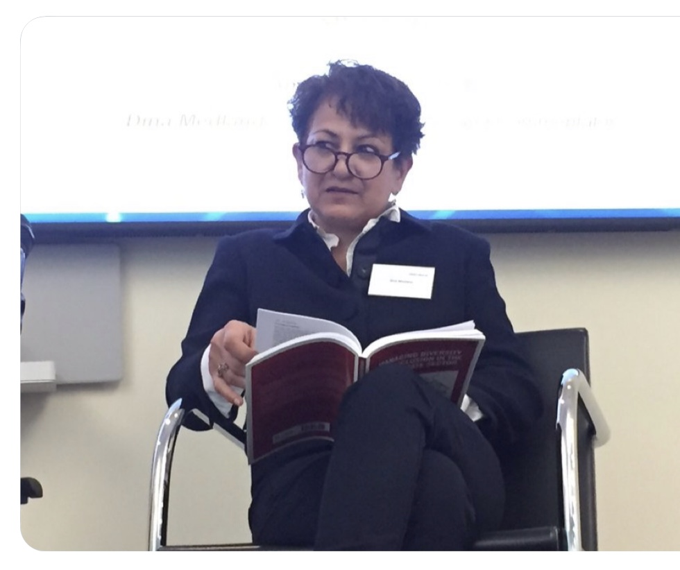 Me at the event with the book at Fried Frank, London June 12, 2019 Image courtesy ING Media