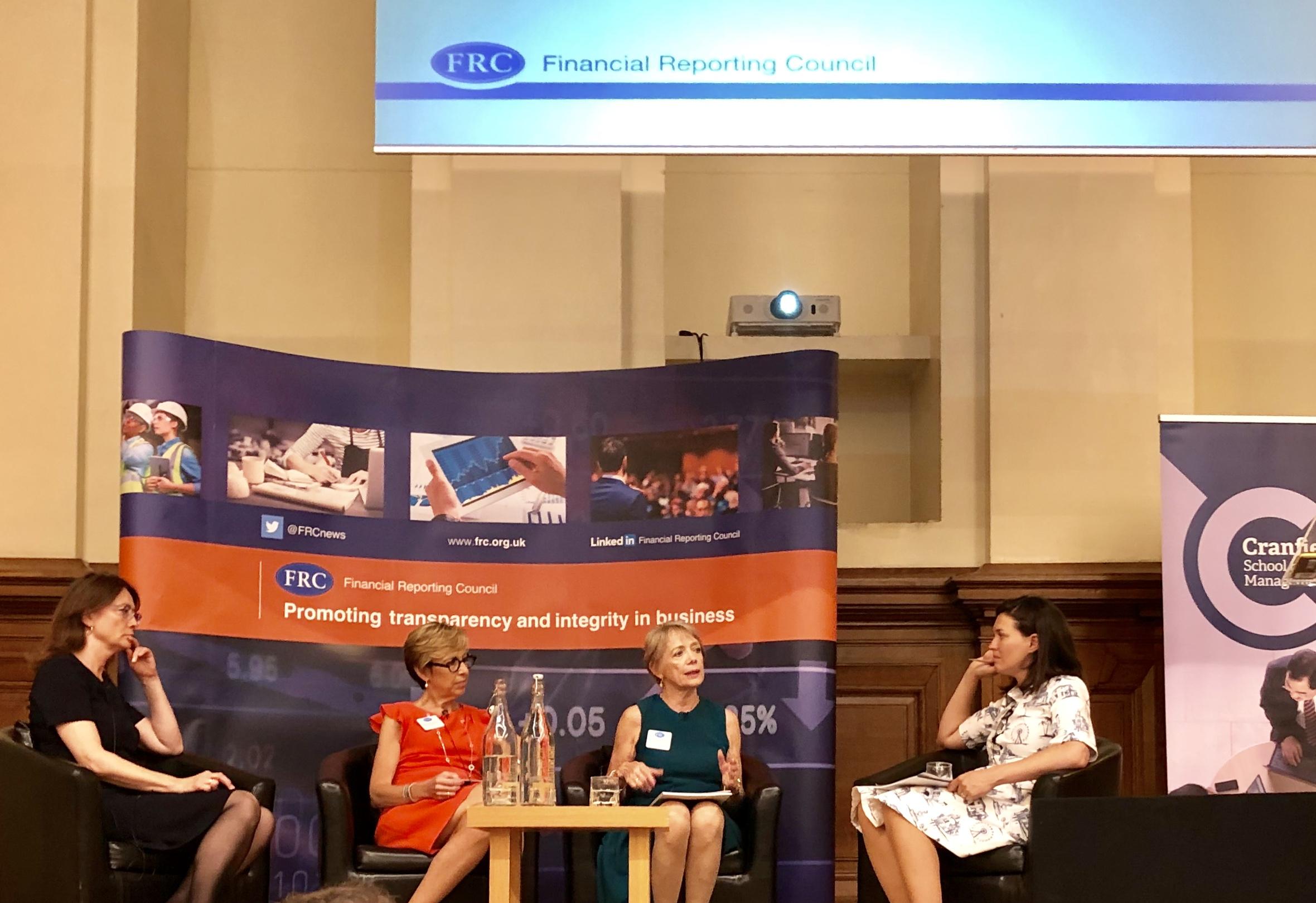 L to R: Fiona Cannon, Brenda Trenowden, Susan Vinnicombe, Katie Prescott July 11, London