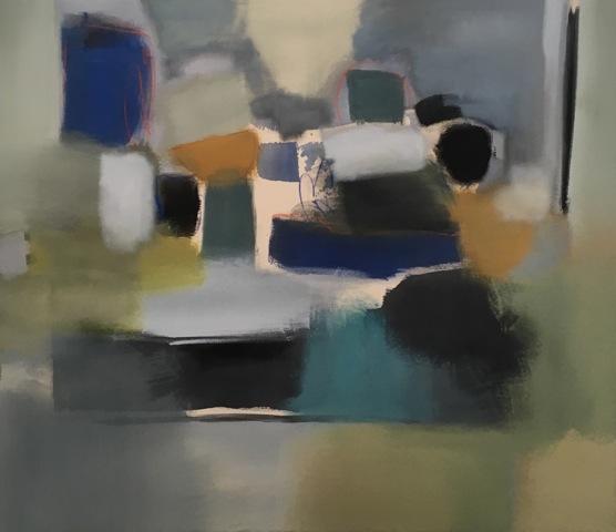 The Dynamics of Blue, 50x58
