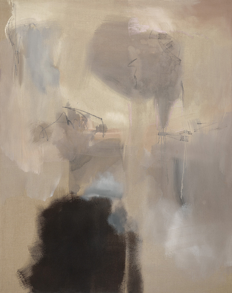 Brushes With Light, 58x46