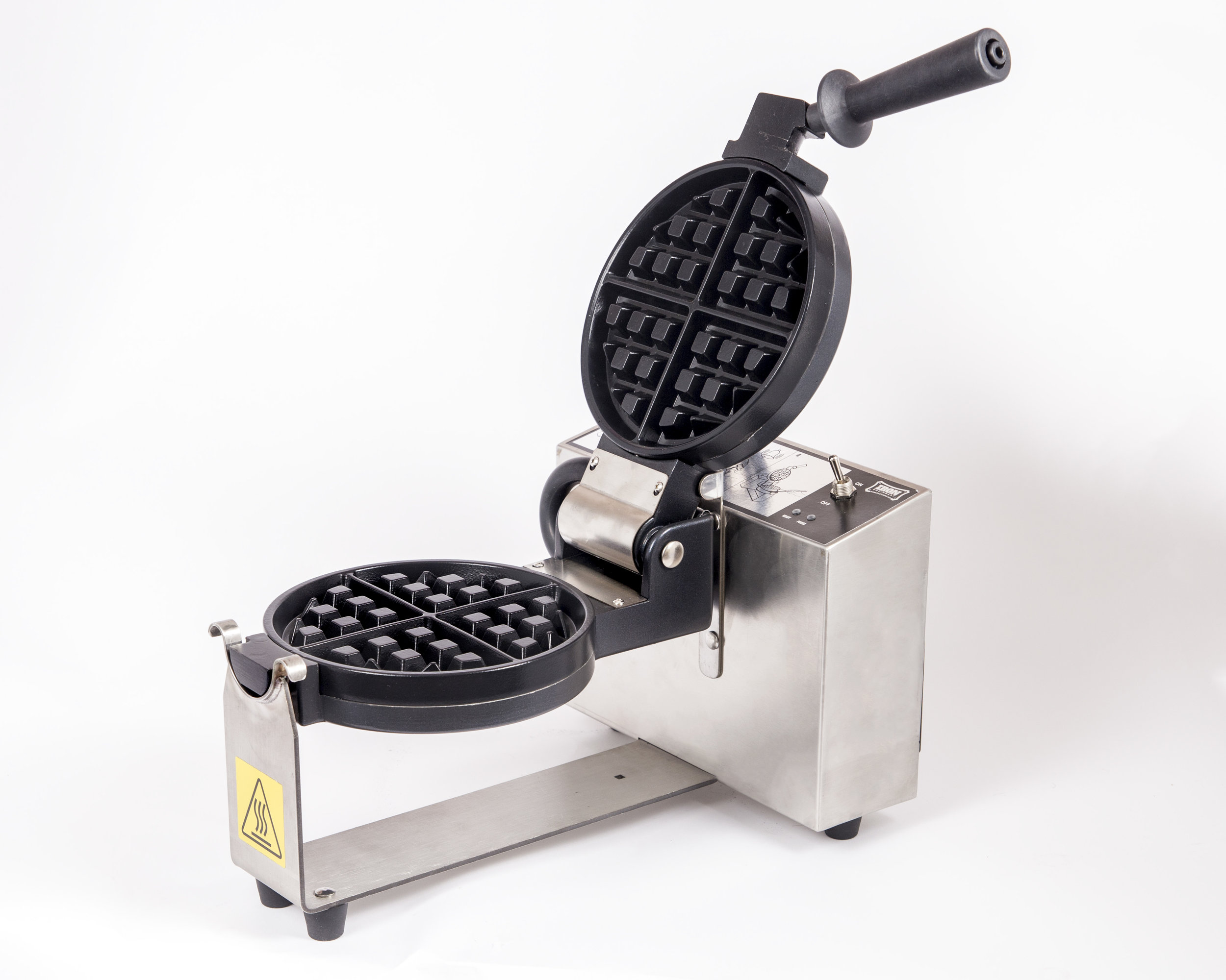 Contact us to inquire about purchasing your own IRON EQUIPMENTS MANUFACTURING INC. IE-1000 series waffle baker.  Found out about the changes to our new model out this summer!!!