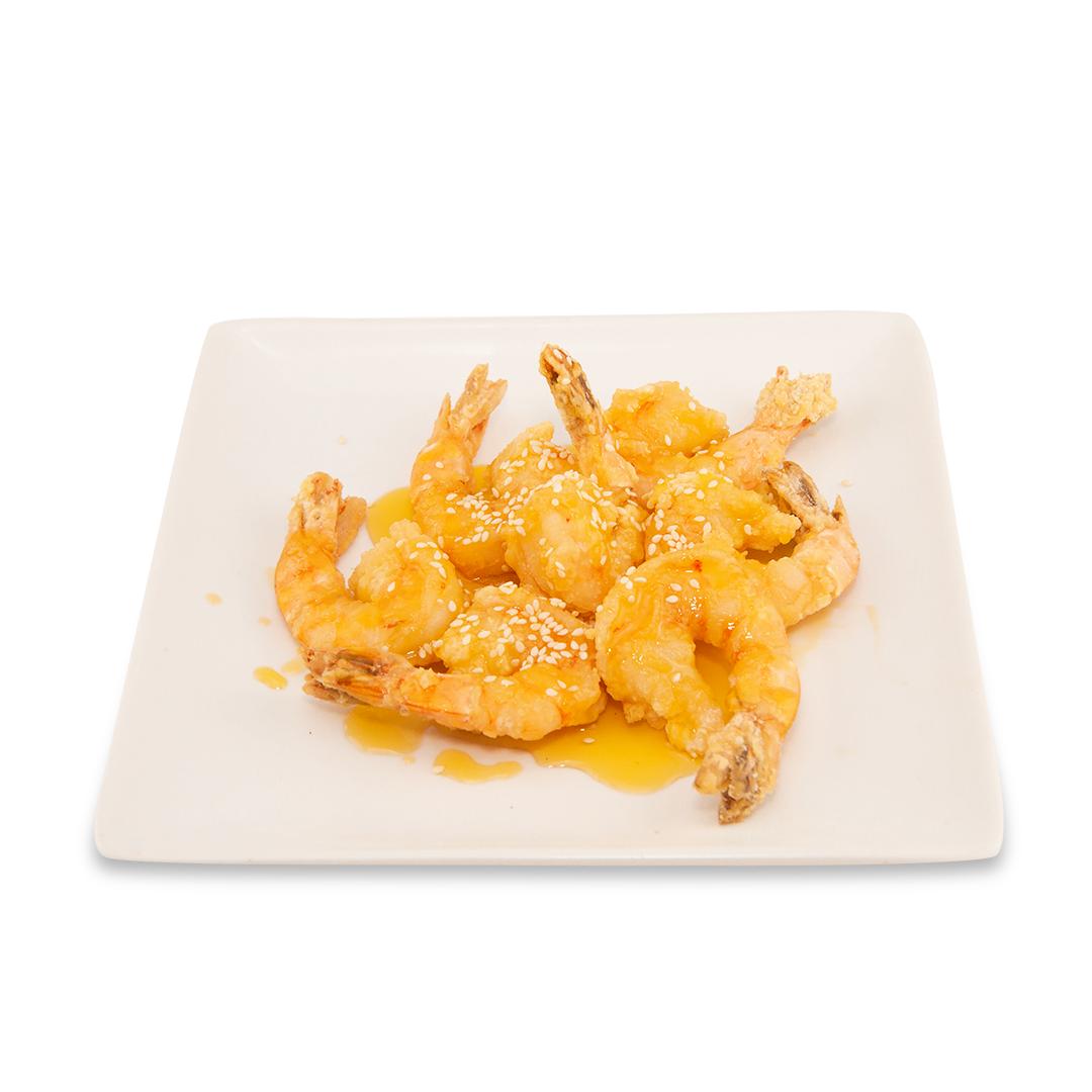 Crevettes avec sauce à la lime -