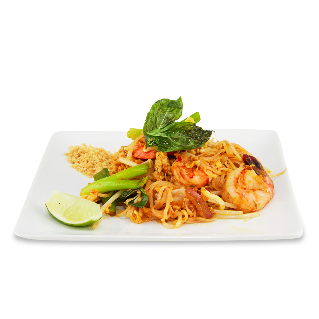 Pad Thaï - A ) VegetablesB ) ChickenC ) BeefD ) Shrimps