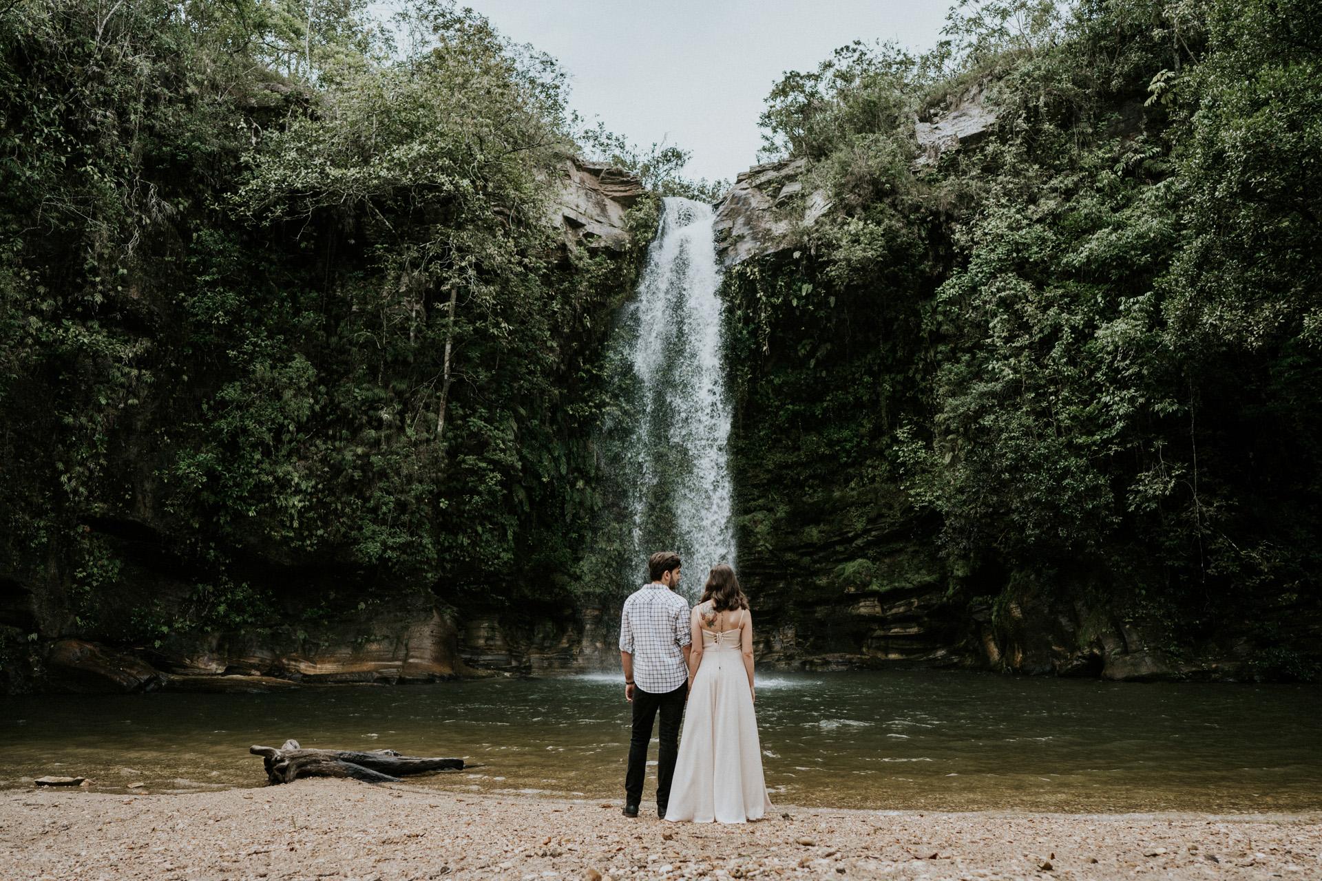 Cachoeira do Abade - A cachoeira do Abade é umas das mais famosas de Pirenópolis, é preciso chegar bem cedo para conseguir fotografar aqui.