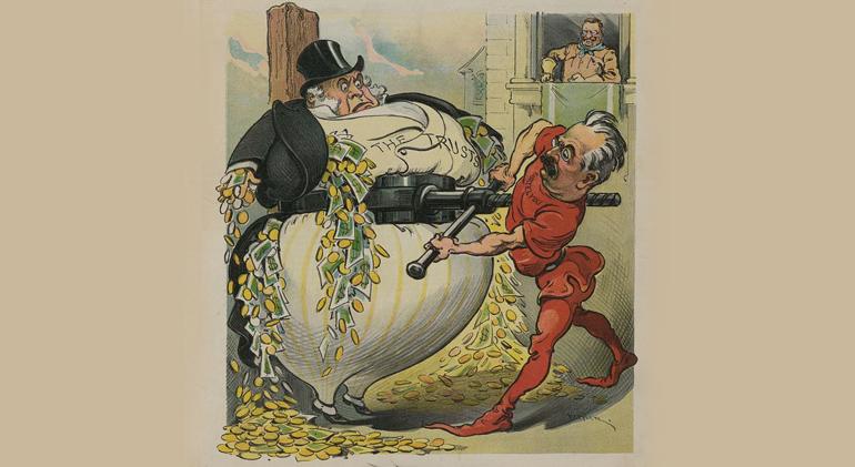 Illustration by  Udo J. Keppler , courtesy of  Library of Congress