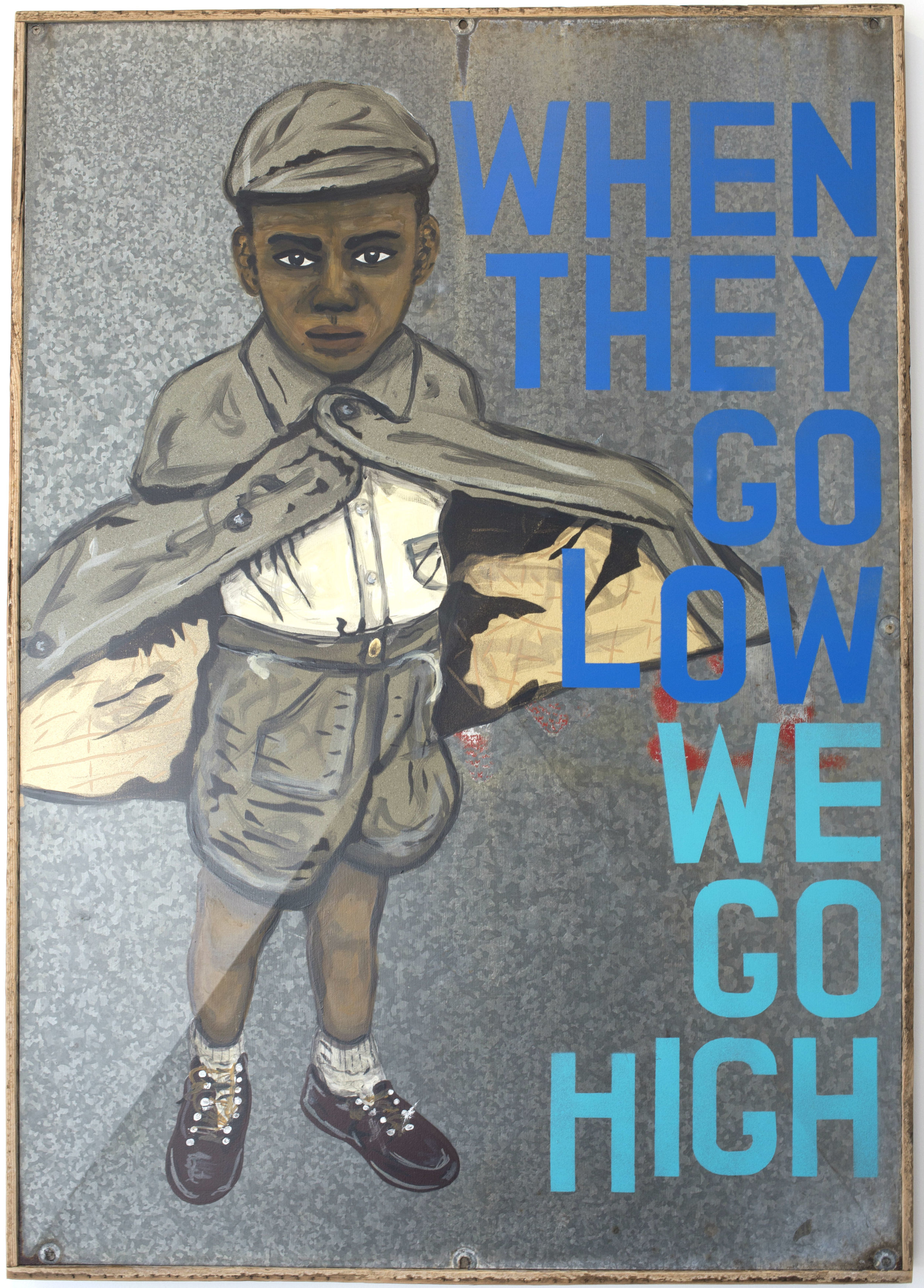 """""""When They Go Low, We Go High""""  (version #2)"""