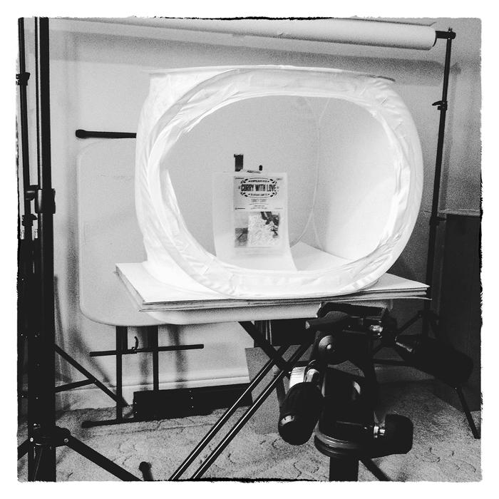 Light Tent setup in the studio