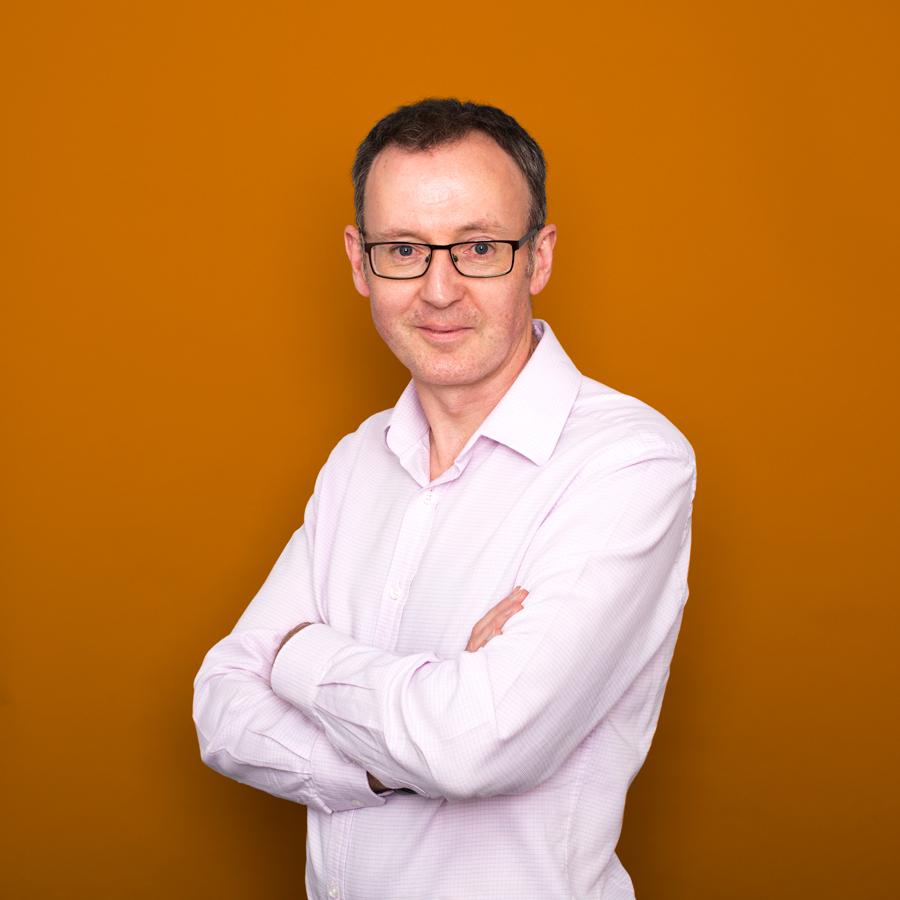 Dr Syd Hiskey (Orange Background)