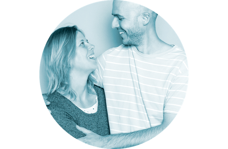 Rachel and Mike from Collett Creative. Website Design in Bury St Edmunds.