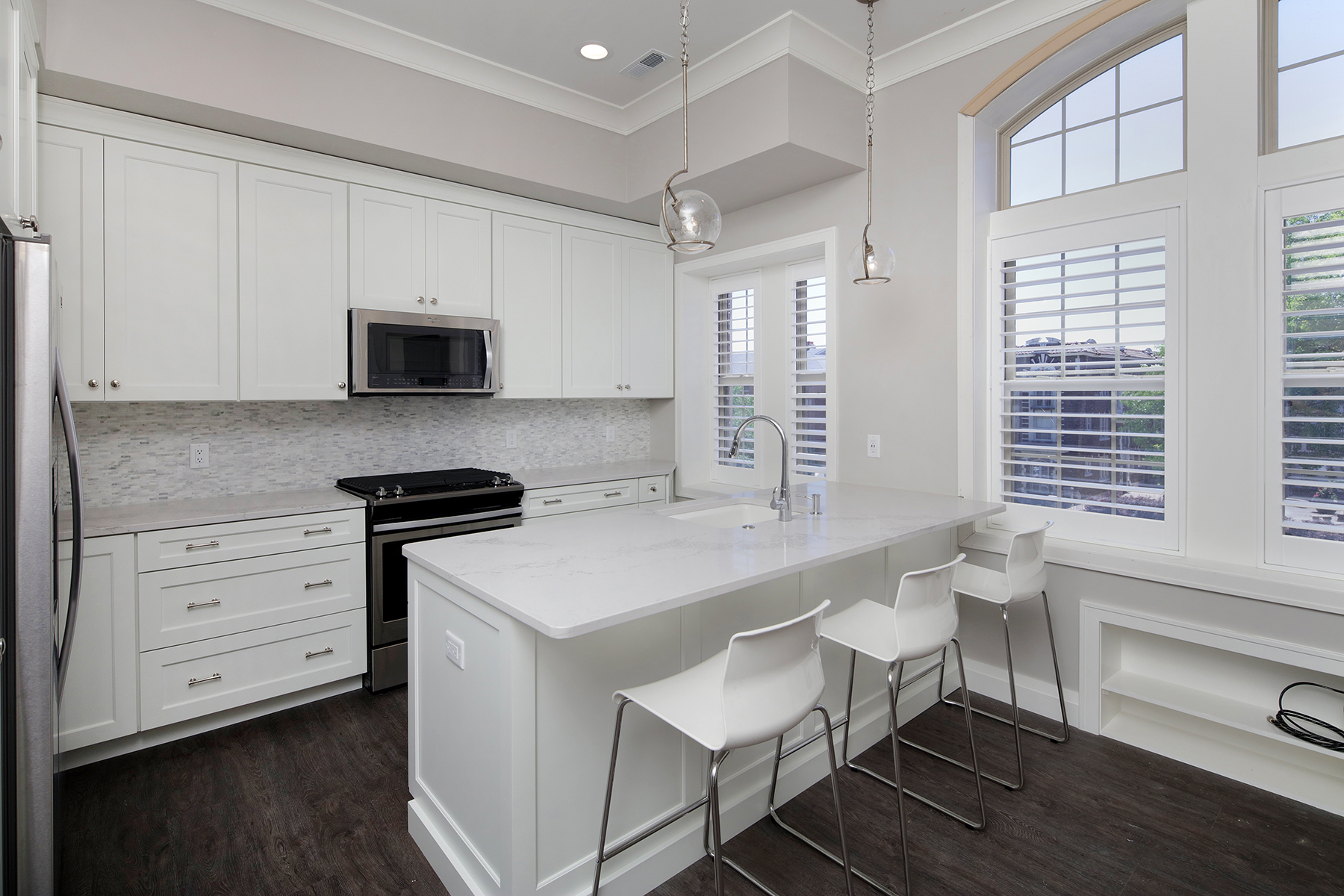 Large 2 Bed Penthouse Kitchen
