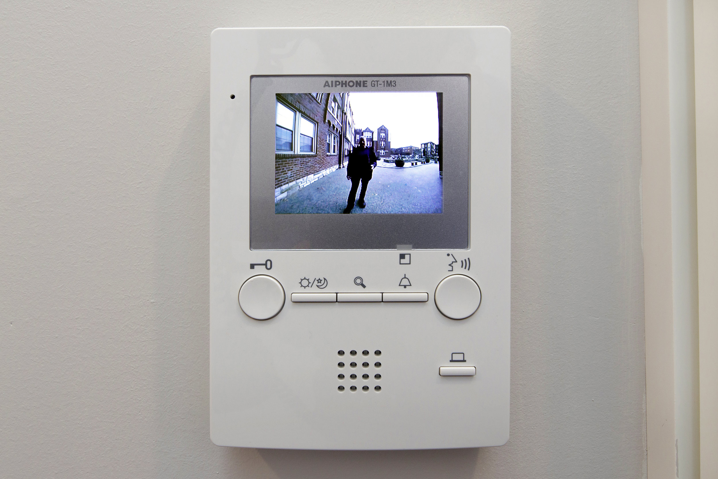 Security Monitor In Unit