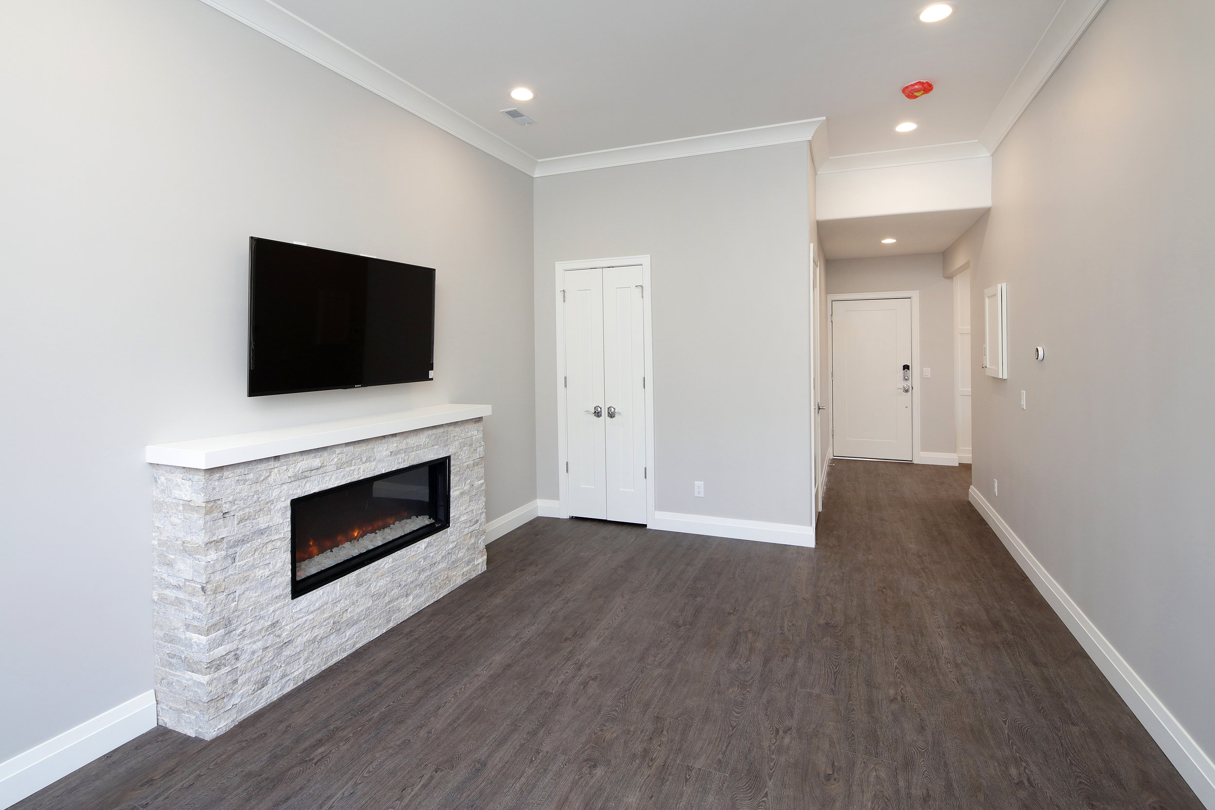 1 Bed Living Room